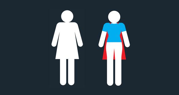 Questa donna cambier il modo in cui guardate l 39 insegna - Cosa fanno le donne in bagno ...