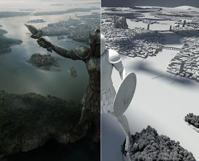 3D per il Cnema, TV e Grafica Pubblicitaria - Game of Thrones