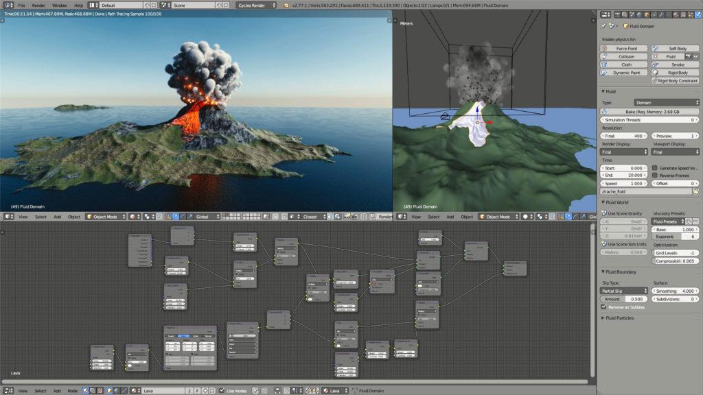 I migliori programmi di animazione 3d per videogiochi vfx for Programmi 3d gratuiti