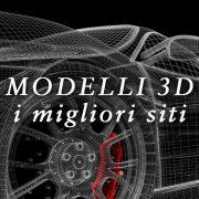 Disegni e Modelli CAD 3D Hi-Res pronti per il download: i migliori siti