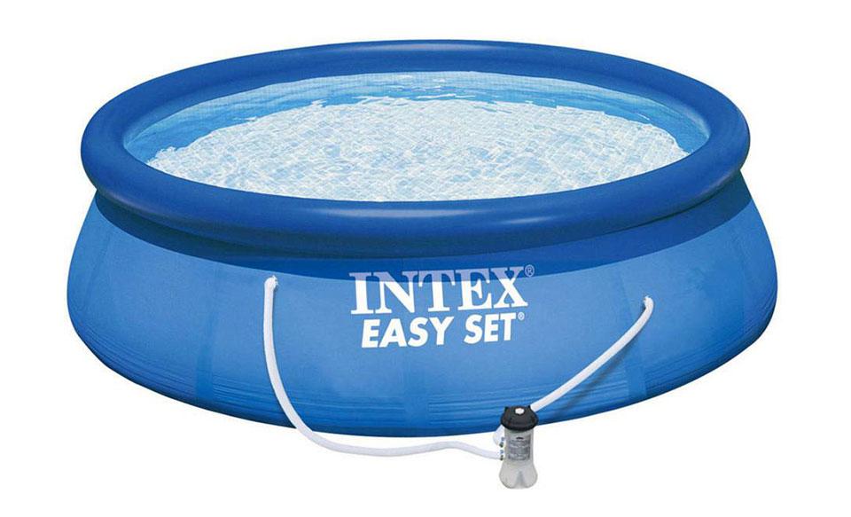 Intex easy set migliore piscina fuori terra economica for Piscine fuori terra intex prezzi