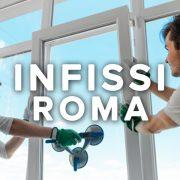 Infissi Roma: fornitori serramenti e finestre in PVC, legno e alluminio
