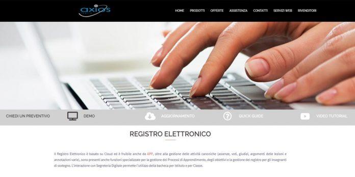 Il Registro Elettronico della Axios Italia