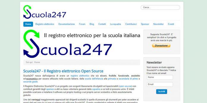Scuola 247: registro elettronico italiano open source