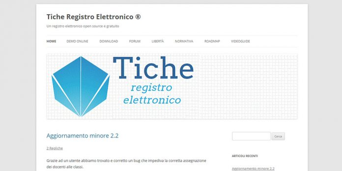 Tiche: registro elettronico open source